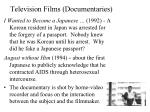 television films documentaries2