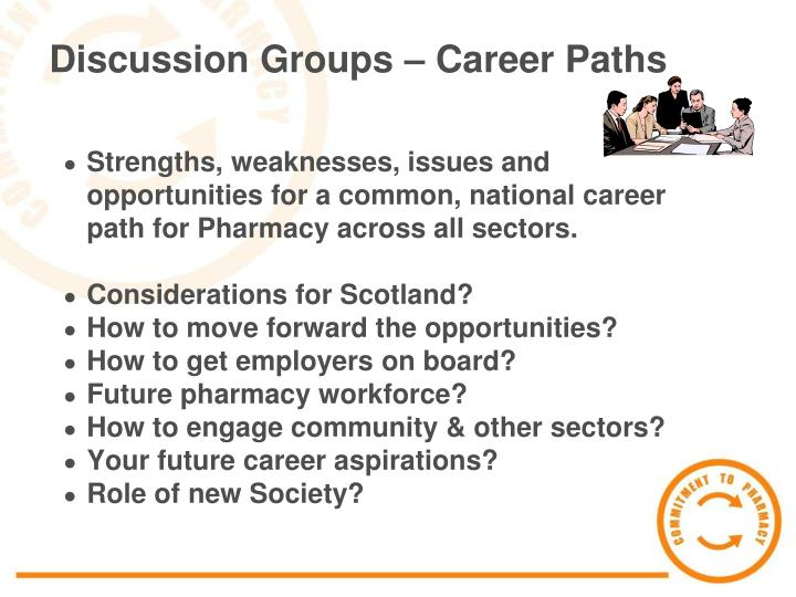 Discussion Groups – Career Paths