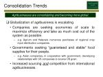 consolidation trends