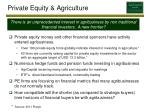 private equity agriculture
