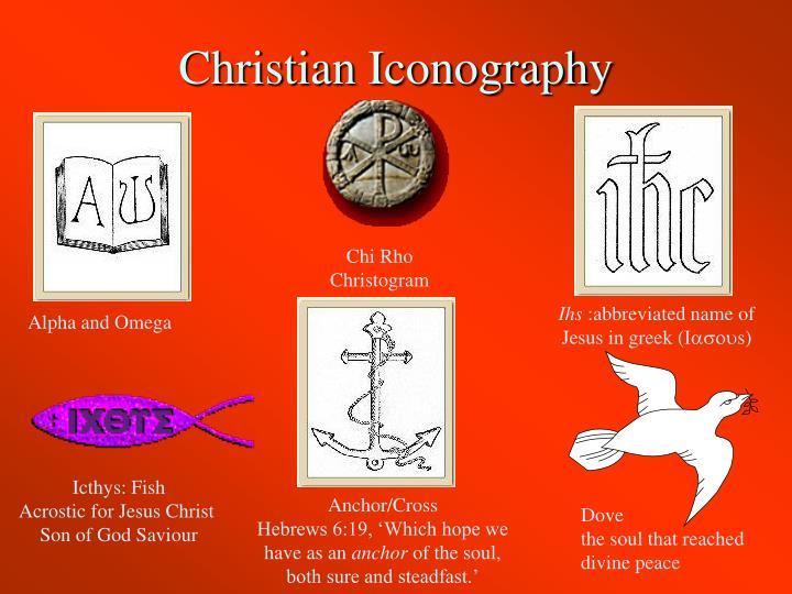 Christian Iconography