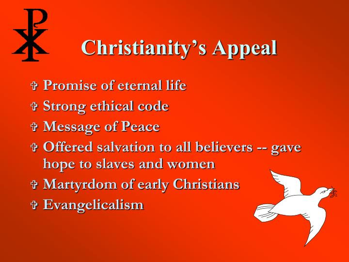 Christianity's Appeal