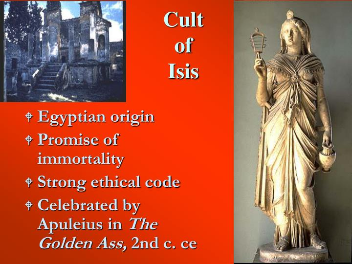 Cult of isis