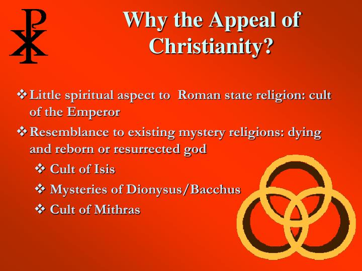 Why the appeal of christianity