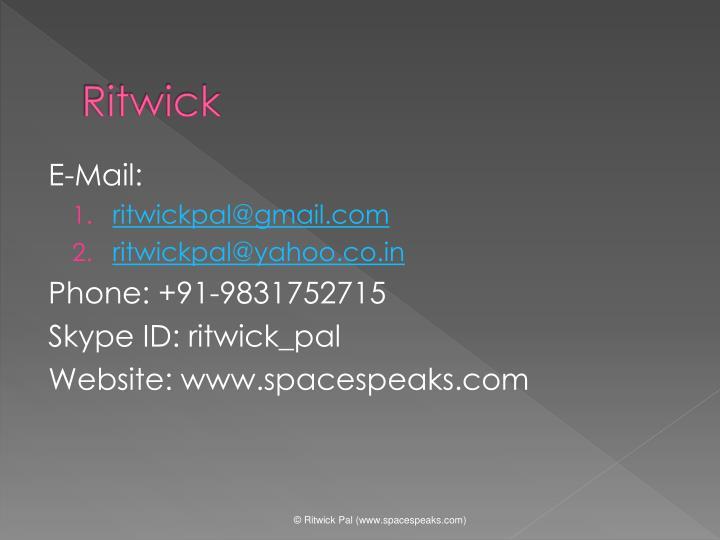 Ritwick