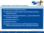 modernisation of eu public procurement1