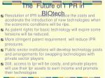 the future of ipr in biotech