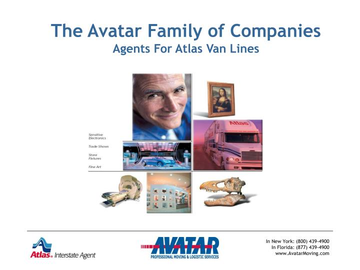 the avatar family of companies agents for atlas van lines n.