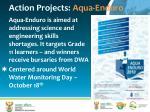 action projects aqua enduro