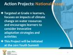 action projects national essays