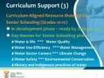 curriculum support 3