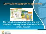 curriculum support programme