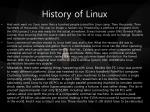 history of linux3