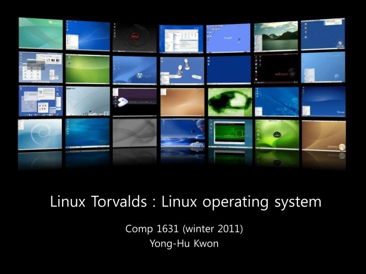 linux torvalds linux operating system n.