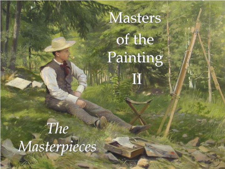 the masterpieces n.