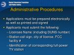 administrative procedures1
