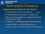 administrative procedures2