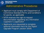 administrative procedures4
