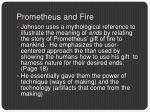 prometheus and fire