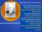 harriet jacobs day 2 key questions