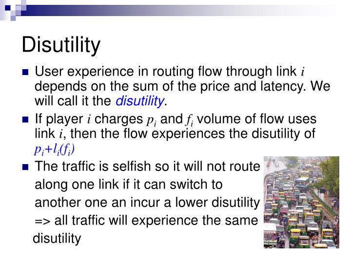 Disutility