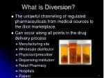 what is diversion