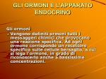 gli ormoni e l apparato endocrino2