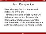 hash compaction2