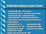 a multidisciplinary expert panel 2