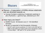 blazars