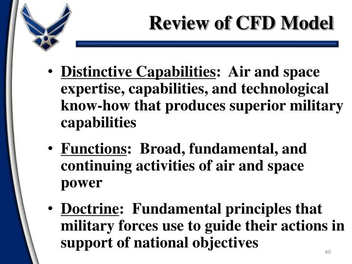 Review of CFD Model