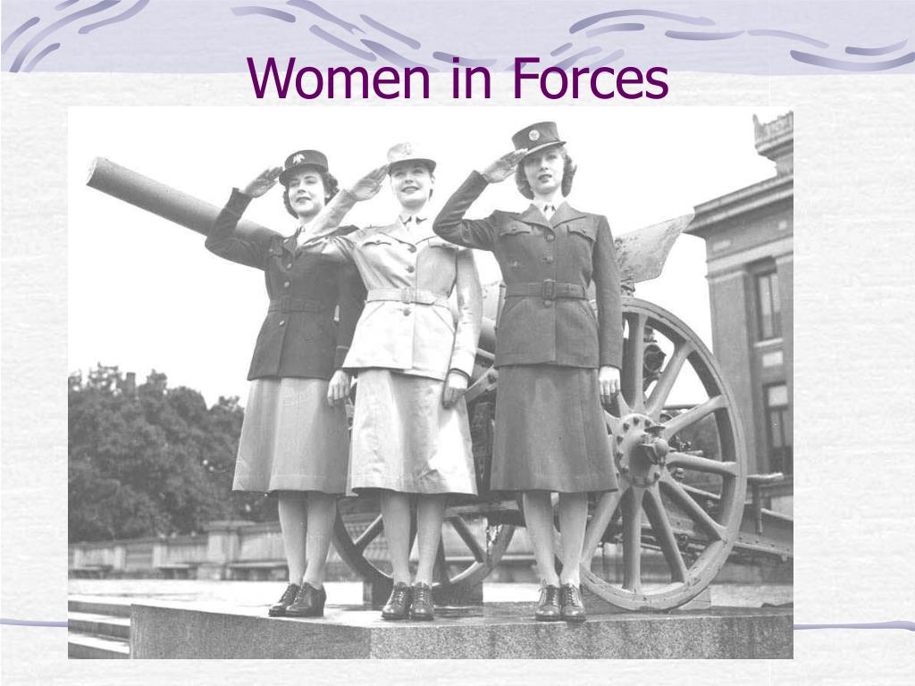 Women in Forces