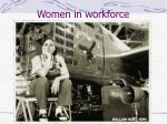 women in workforce