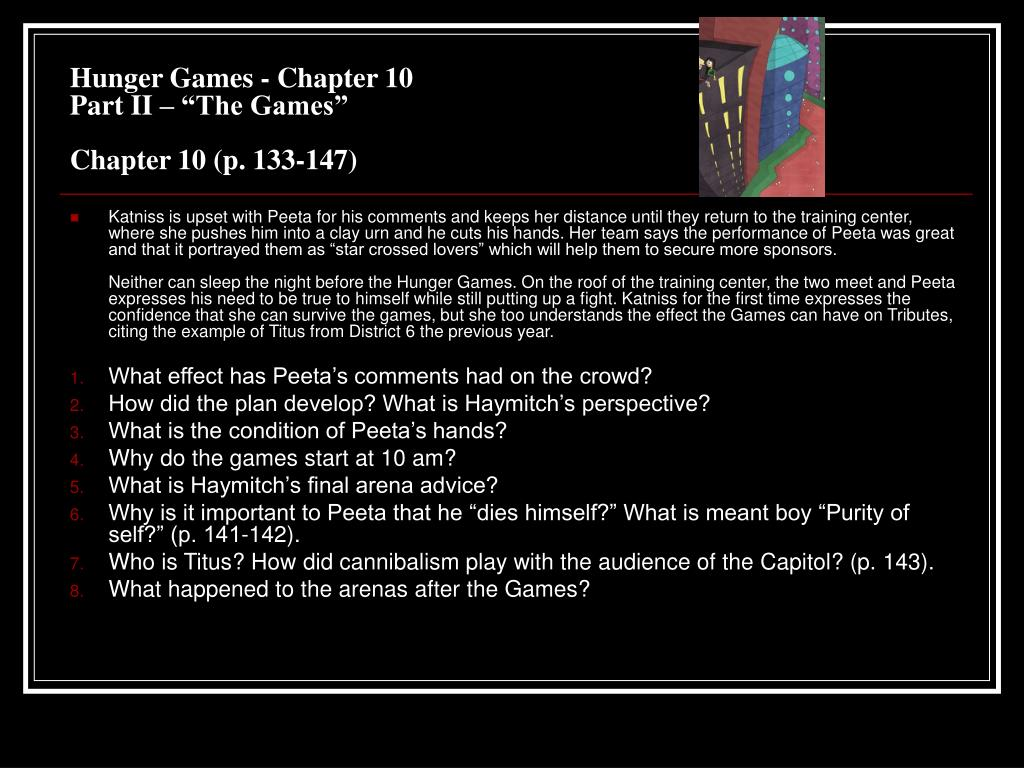 PPT - The Hunger Games PowerPoint Presentation, free