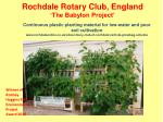 rochdale rotary club england the babylon project