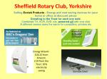 sheffield rotary club yorkshire