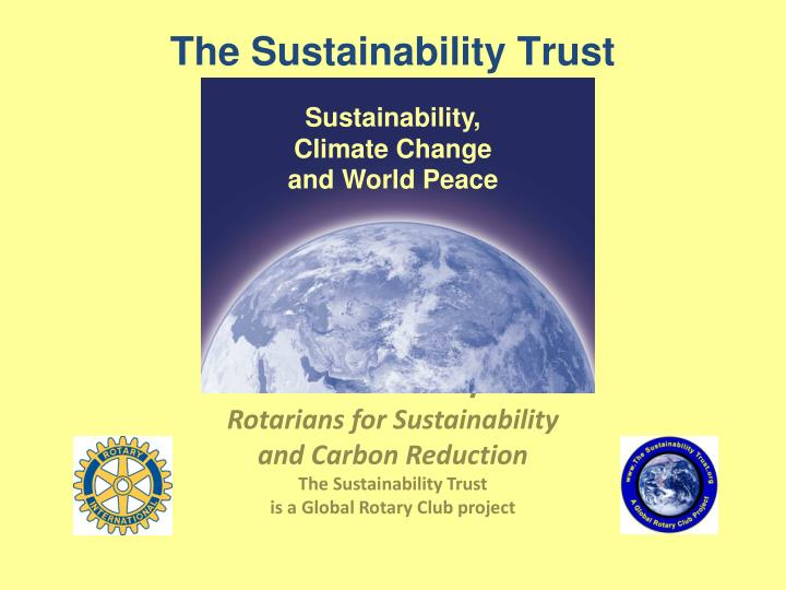 the sustainability trust n.