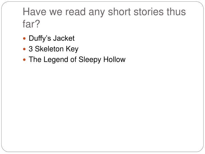 3 skeleton key story