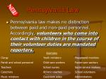 pennsylvania law