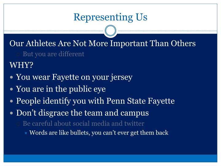 Representing Us