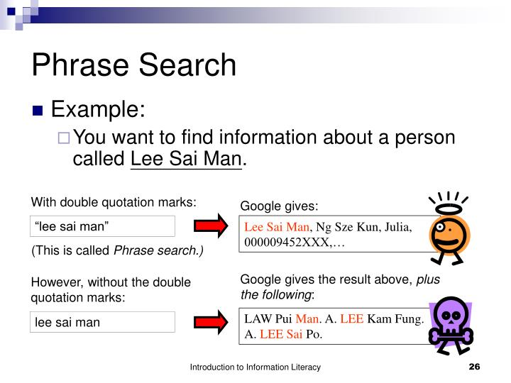 Phrase Search
