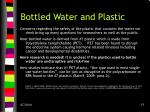 bottled water and plastic1