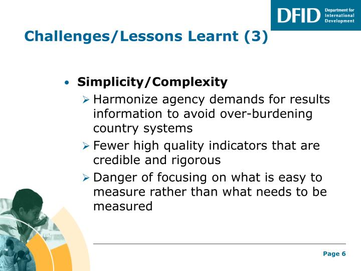 Challenges/Lessons Learnt (3)