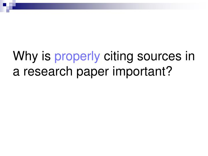 research paper citing sources within paper Documenting your research acknowledge the ideas of others intellectual property plagiarism cite your sources history social sciences using sources in your research paper is an important part of building and supporting your argument.