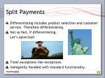 split payments