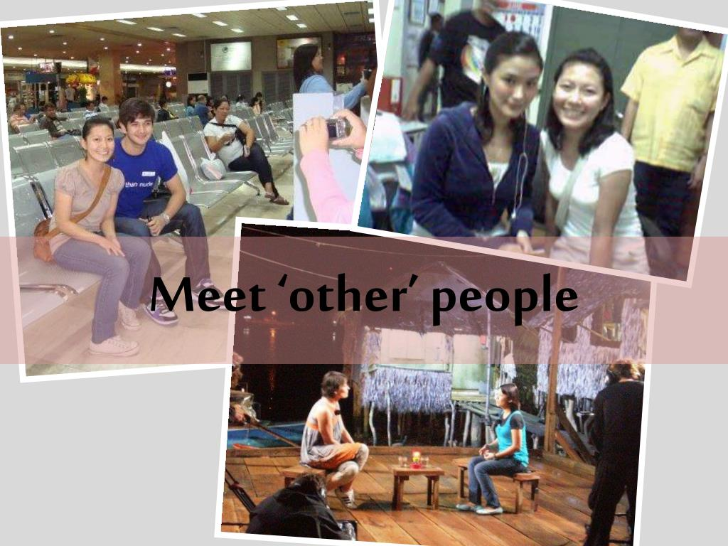 Meet 'other' people