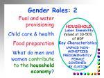gender roles 2