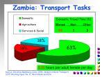 zambia transport tasks