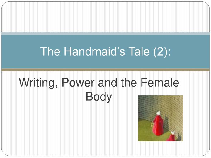 handmaids tale essay View and download the handmaid's tale essays examples essays examples also discover topics, titles, outlines, thesis statements, and conclusions for your the handmaid's tale essays examples essay.