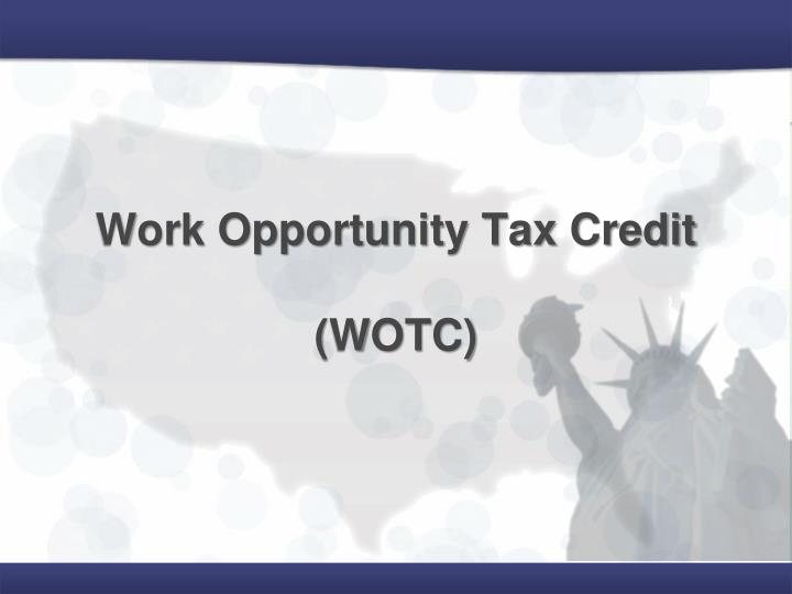 work opportunity tax credit wotc n.